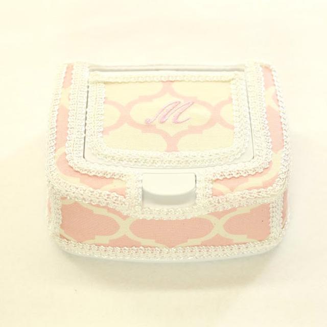 [出産祝い]〔MOROCCAN〕おしりふきケース単品【pink/blue】手口拭きケース/ワイプケース/プレゼント