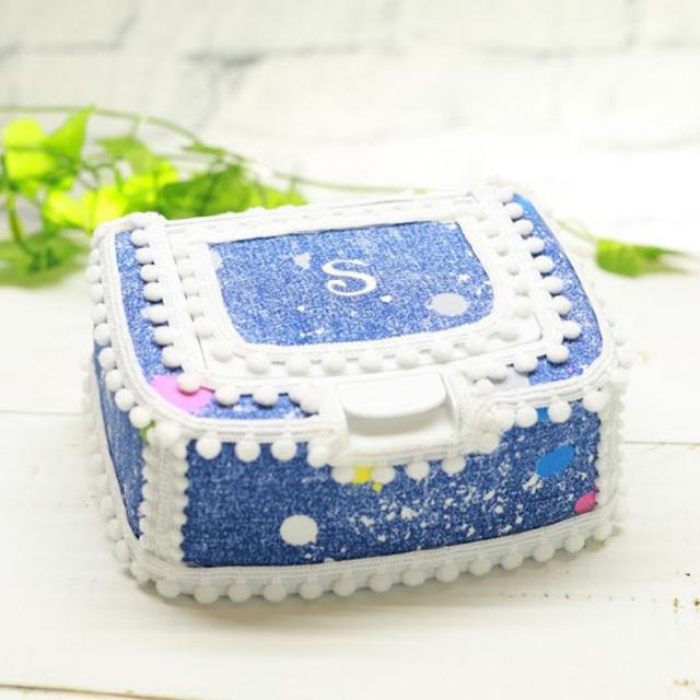 [出産祝い]〔PAINTDENIM〕おしりふきケース単品【1color】手口拭きケース/ワイプケース/プレゼント