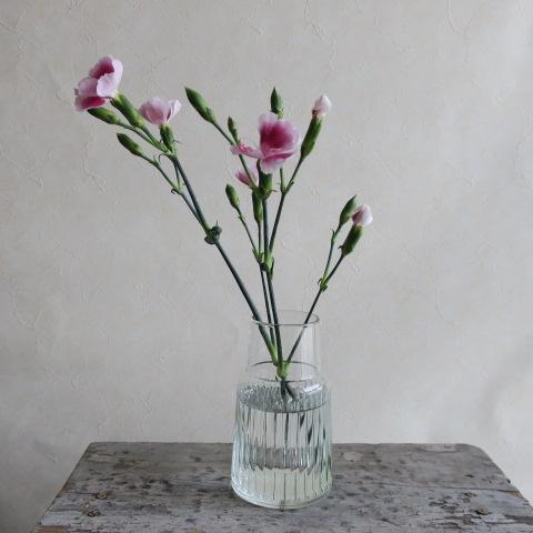 【リューズガラス】フィノライン フラワーベース/ステーブル