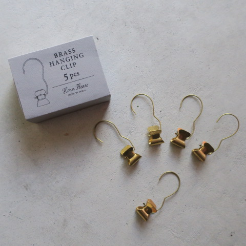 【BRASS真鍮】ハンギングクリップ