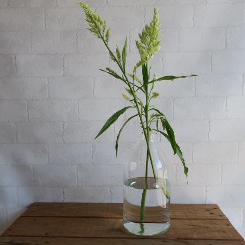 【リューズガラス】フラワーベース/スロープL