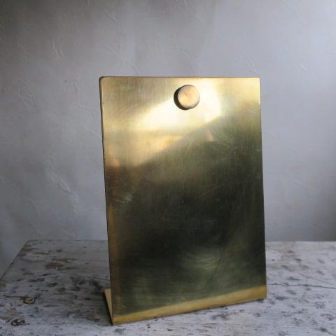 【BRASS真鍮】インフォメーションスタンド マグネットS