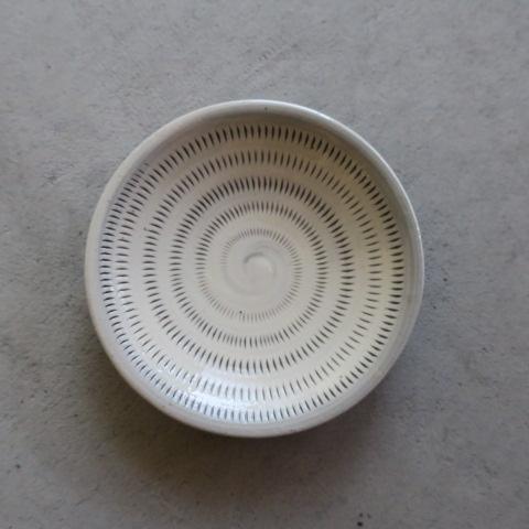 【小石原焼】上鶴窯 / 豆皿 飛びカンナ