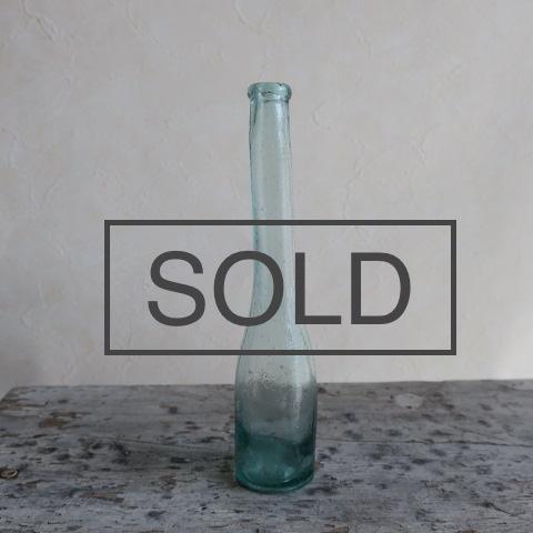【Vintage/ヴィンテージ】ガラス瓶/フラワーベース B