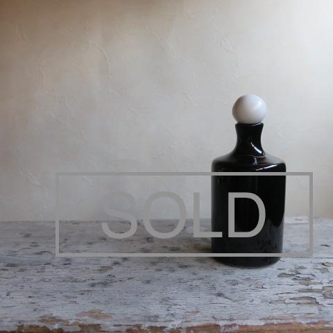 【Vintage/ヴィンテージ】香水瓶/フラワーベース ラウンド