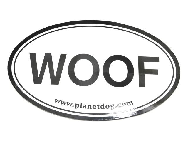 プラネットドッグ WOOF ステッカー