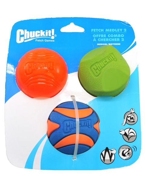 チャキット フェッチメドレー2・ボールパック (3個セット)