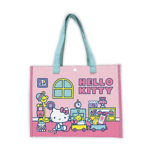 サンリオ ハローキティ(Hello Kitty) 横型ビニールトート【プールバッグ 女の子】