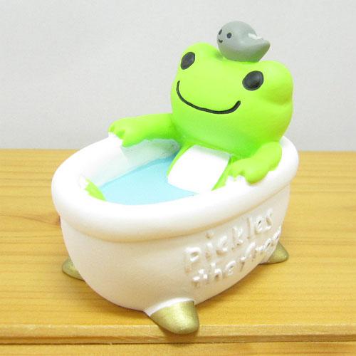 カエルのピクルス(かえるのピクルス) フィギュアシリーズ ピクルス フィギュア バスタブ