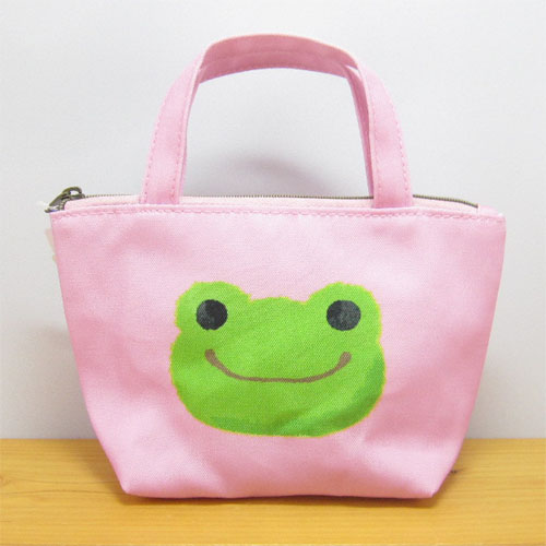 カエルのピクルス(かえるのピクルス) ピクルス バッグ型ポーチ(ピンク)