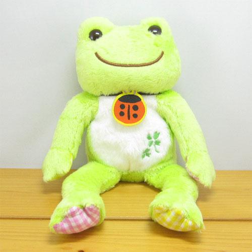 カエルのピクルス(かえるのピクルス) ラッキーモチーフ ビーンドール(グリーン)