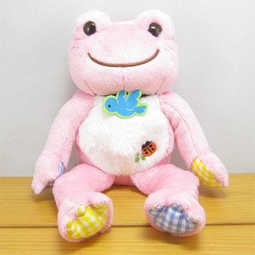 カエルのピクルス(かえるのピクルス) ラッキーモチーフ ビーンドール(ピンク)
