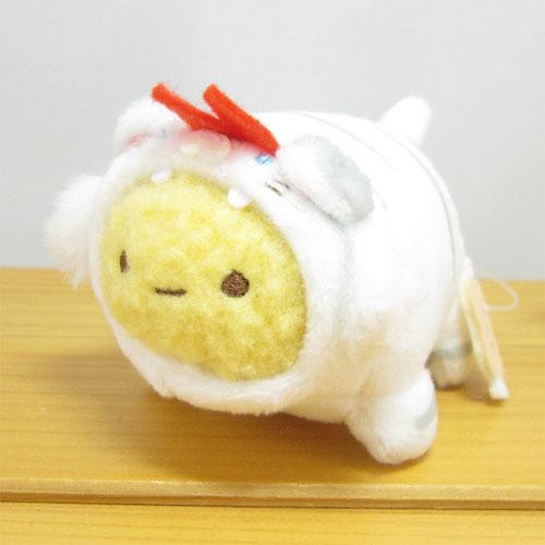 すみっコぐらし コレクション すみっコアニマルパーク てのりぬいぐるみ えびふらいのしっぽ(ホワイトタイガー)
