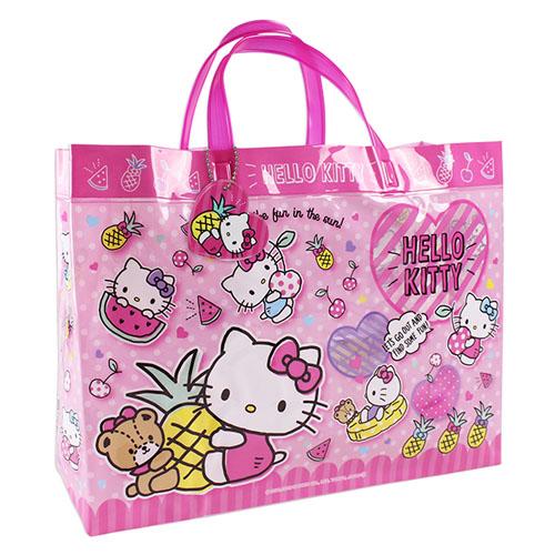 サンリオ ハローキティ(Hello Kitty) ビーチバッグ(マチあり)