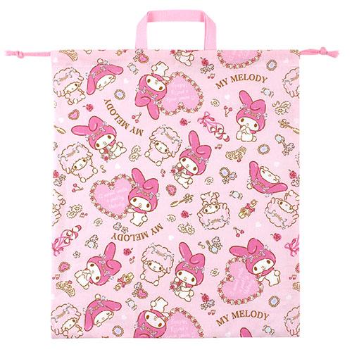 サンリオ マイメロディ(MY MELODY) 巾着L ピンク