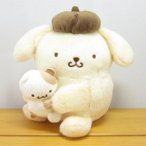 サンリオキャラクターズ ペアぬいぐるみ ポムポムプリン(POMPOMPURIN)