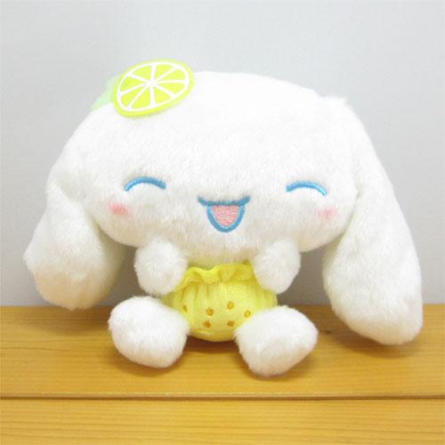 サンリオキャラクターズ フルーツ☆ぱんつ シナモロール(Cinnamoroll) ぬいぐるみS