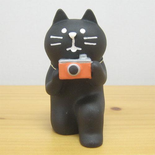 DECOLE(デコレ) concombre(コンコンブル) 旅猫 in HAWAII 黒猫カメラマン