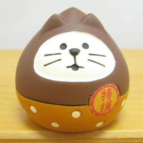 DECOLE(デコレ) concombre(コンコンブル) いもくりこんこん みのりの秋 フルーツ猫だるま 栗