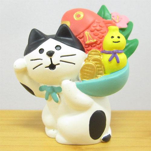 DECOLE(デコレ) concombre(コンコンブル) FUKU福MONO(フクモノ)シリーズ 縁起かつぎ招き猫