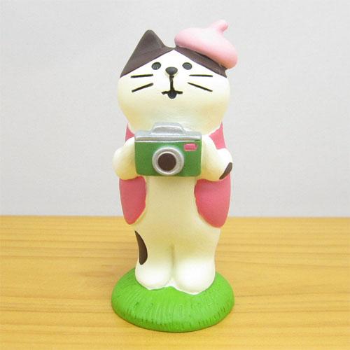 DECOLE(デコレ) concombre(コンコンブル) 旅猫 日本横断 桜めぐり旅 お花見カメラマン猫