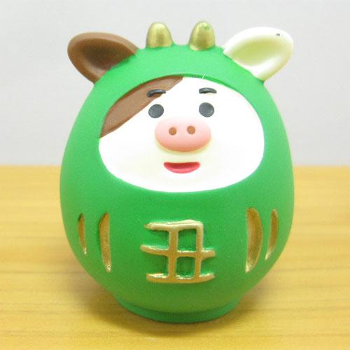 DECOLE(デコレ) concombre(コンコンブル) 2021 福丑 お正月飾り 丑だるま
