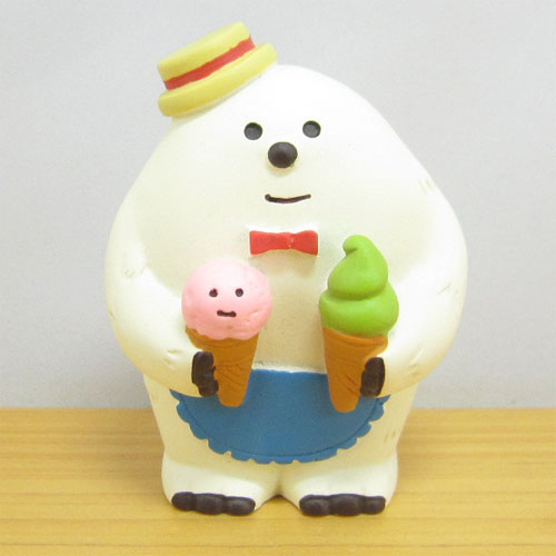 DECOLE(デコレ) concombre(コンコンブル) 雪猫アイス店シリーズ 店員イエティ