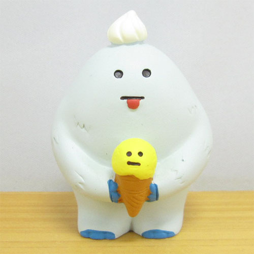 DECOLE(デコレ) concombre(コンコンブル) 雪猫アイス店シリーズ こどもイエティ