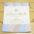 Anano cafe(アナノカフェ) 巾着Mサイズ(ブルー)