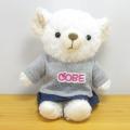 COBE COBE(コービーコービー) ぬいぐるみMサイズ CトレーナーGY