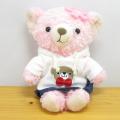 COBE COBE(コービーコービー) ぬいぐるみMサイズ COBEパーカーWH桜