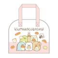 San-X すみっコぐらし ビニールボストンバッグ(ピンク)【プールバッグ】