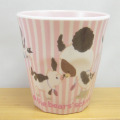 くまのがっこう  メラミンカップ(ピンク)