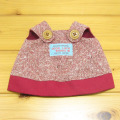 童心 日本製オリジナル クマのフカフカ Mサイズ用 コスチュー(レッドスカート)