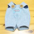 童心 日本製オリジナル クマのフカフカ Mサイズ用 コスチュー(ブルーサロペット)