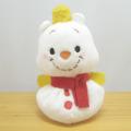 ディズニー Potepote ぽてぽてお手玉マスコット プー(雪だるま)