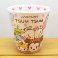 ディズニー TSUMTSUM ツムツム ラブラブツムツム Wプリントメラミンカップ(ファンタイム)