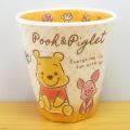 ディズニー Winnie the Pooh くまのプーさん FUZZY POOH Wプリントメラミンカップ ファジー プー/おすわり
