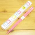 ディック・ブルーナ miffy(ミッフィー) 箸&ケース18cm(スプリングフラワー)