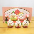 DECOLE(デコレ) concombre(コンコンブル) 桃のおひなさま 猫雛セット