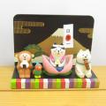 DECOLE(デコレ) concombre(コンコンブル) 五月飾り 桃太郎猫どんぶらこセット