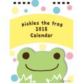 カエルのピクルス(かえるのピクルス) 2018年 卓上カレンダー 【2018年 カレンダー】
