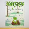 カエルのピクルス(かえるのピクルス) クリアファイル(ピクルス虹をわたる)