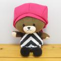 くまのがっこう やわらかシリーズ やわらか ビーンドール ジャッキー ピンク帽子