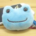 カエルのピクルス(かえるのピクルス) ボンジュールピクルスシリーズ フェイスストラップ(ブルー)