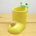 カエルのピクルス(かえるのピクルス) クラフトシリーズ レジンドール ピクルス 長靴印鑑スタンド
