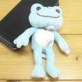 カエルのピクルス(かえるのピクルス) しずくピクルスシリーズ マスコット(ブルー)