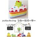 カエルのピクルス(かえるのピクルス) フルーツパーラーシリーズ ケーキクッション