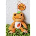 カエルのピクルス(かえるのピクルス) マルシェドピクルス限定 フルーツパーラーシリーズ マスコット(オレンジ)