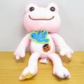 カエルのピクルス(かえるのピクルス) ラッキーモチーフ マスコット(ピンク)